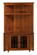 McCoy Flat Screen Corner TV Cabinet  -  Cat No: 504-MCCNRTV-108  -  Click To Order  -  ID: 6629