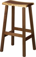 Live Edge Barstool  -  Cat No: 210-10300-0413BS-96  -  Click To Order  -  ID: 8461