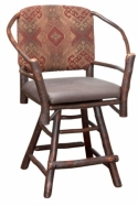 Hoop Swivel Barstool  -  Cat No: H210-300-135-O  -  Click To Order  -  ID: 8568