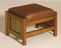 Cubic Mission Panel Footstool  -  Cat No: 276-151CPFF-117  -  Click To Order  -  ID: 3327