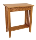 Mission Console Table  -  Cat No: 304-C152425-103-O  -  Click To Order  -  ID: 7969