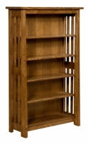 Freemont Mission Open Bookcase  -  Cat No: 503-FOB60-128  -  Click To Order  -  ID: 7385