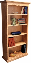 Brookside Bookcase  -  Cat No: 503-BBC2484-87  -  Click To Order  -  ID: 8123