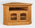 Shaker Corner TV Stand w/DVD Area  -  Cat No: 504-CESV29S-25  -  Click To Order  -  ID: 4215
