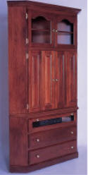 2 Piece Corner Entertainment Center  -  Cat No: 501-64CEC-41  -  Click To Order  -  ID: 789