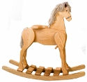 Large Rocking Horse  -  Cat No: 676-10-30-69  -  Click To Order  -  ID: 1986
