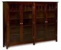Mission Bookcase  -  Cat No: 455-LA123DB-126  -  Click To Order  -  ID: 8304