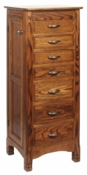 West Lake Jewelry Armoire  -  Cat No: 606-J012401-103-O  -  Click To Order  -  ID: 7923