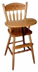 Acorn Highchair  -  Cat No: 215-H090709-103-O  -  Click To Order  -  ID: 7878