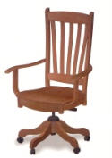 Benton Desk Chair  -  Cat No: 203-8004-7  -  Click To Order  -  ID: 5586