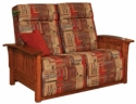 Mission Loveseat Recliner  -  Cat No: 275-85-2-69  -  Click To Order  -  ID: 7651