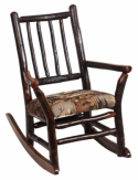Child's Grandpa Hickory Rocker  -  Cat No: 261-H06010-103-O  -  Click To Order  -  ID: 7848