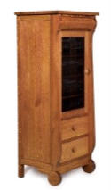 Old Classic Sleigh Stereo Cabinet  -  Cat No: 505-FVE027OCS-107  -  Click To Order  -  ID: 4395
