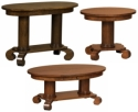 Jefferson Occasional Tables  -  Cat No: 304-JEFEND-115  -  Click To Order  -  ID: 8349