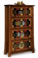 Modesto Barrister Bookcase  -  Cat No: 455-FVBR4DRMD-107  -  Click To Order  -  ID: 8326