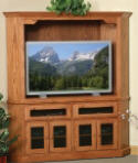 Corner HDTV Entertainment Center  -  Cat No: 525-364chdtv-41  -  Click To Order  -  ID: 3281