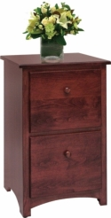 Shaker File Cabinet  -  Cat No: 453-SFC2-87  -  Click To Order  -  ID: 8122
