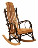 Youth Hickory Rocker  -  Cat No: H260-106-135-O  -  Click To Order  -  ID: 8530