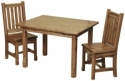 Child's West Lake Table and Chairs  -  Cat No: 110-C090910-103-O  -  Click To Order  -  ID: 8487