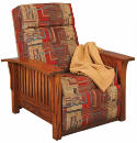Mission Recliner Wall Hugger  -  Cat No: 275-85-1-69  -  Click To Order  -  ID: 4723