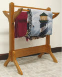 Shaker Quilt Rack  -  Cat No: 317-4004-8  -  Click To Order  -  ID: 7163