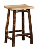 Hickory Barstool  -  Cat No: H210-296-135-O  -  Click To Order  -  ID: 8567