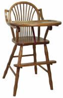 Sheaf High Chair  -  Cat No: 215-85SHC-23  -  Click To Order  -  ID: 194