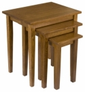 Shaker Nesting Tables  -  Cat No: 307-N050312-103-O  -  Click To Order  -  ID: 7967