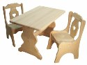 Child's 18x28 Rectangular Table  -  Cat No: 110-76RET-23  -  Click To Order  -  ID: 1190