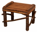 Hickory Footstool  -  Cat No: H260-111-112-135-O  -  Click To Order  -  ID: 8533