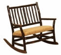 Child's Grandpa Double Rocker  -  Cat No: H260-120-135-O  -  Click To Order  -  ID: 8538