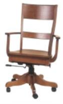 Columbus Desk Chair  -  Cat No: 203-AC132ADGL-38  -  Click To Order  -  ID: 5573