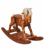 Deluxe Rocking Horse  -  Cat No: 676-10-1-69  -  Click To Order  -  ID: 254