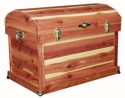 Round Top Cedar Chest  -  Cat No: 600-C052024-103-O  -  Click To Order  -  ID: 7885