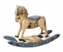 Painted Rocking Horse  -  Cat No: 676-10SP-69  -  Click To Order  -  ID: 7654