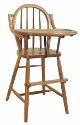 Bow High Chair  -  Cat No: 215-69BHC-23  -  Click To Order  -  ID: 192