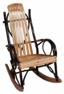 Child's Hickory Rocker  -  Cat No: 261-H06000-103-O  -  Click To Order  -  ID: 7847