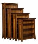 Bridgefort Mission Bookcase  -  Cat No: 503-BFB401448-128  -  Click To Order  -  ID: 7381