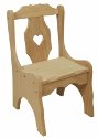 Child's Heart Chair  -  Cat No: 220-73HT-23  -  Click To Order  -  ID: 1983
