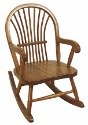 Child's Sheaf Rocking Chair  -  Cat No: 261-68SR-23  -  Click To Order  -  ID: 242