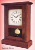 Shaker Mantel Clock  -  Cat No: 375-303-54  -  Click To Order  -  ID: 6613
